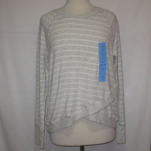Active Life Modal Sweatshirt Top L NWT